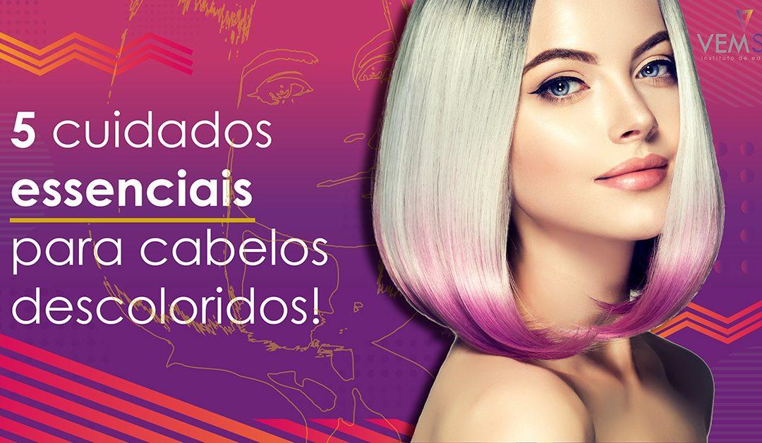 5 cuidados essenciais para cabelos descoloridos