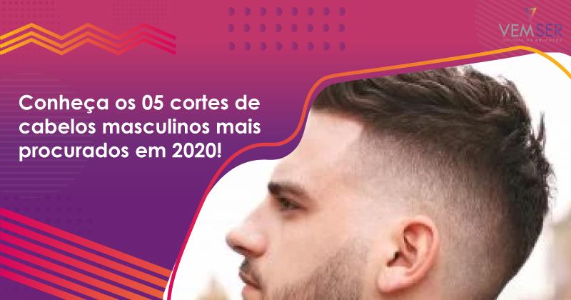 Conheça os 05 cortes de cabelos masculinos mais procurados em 2020