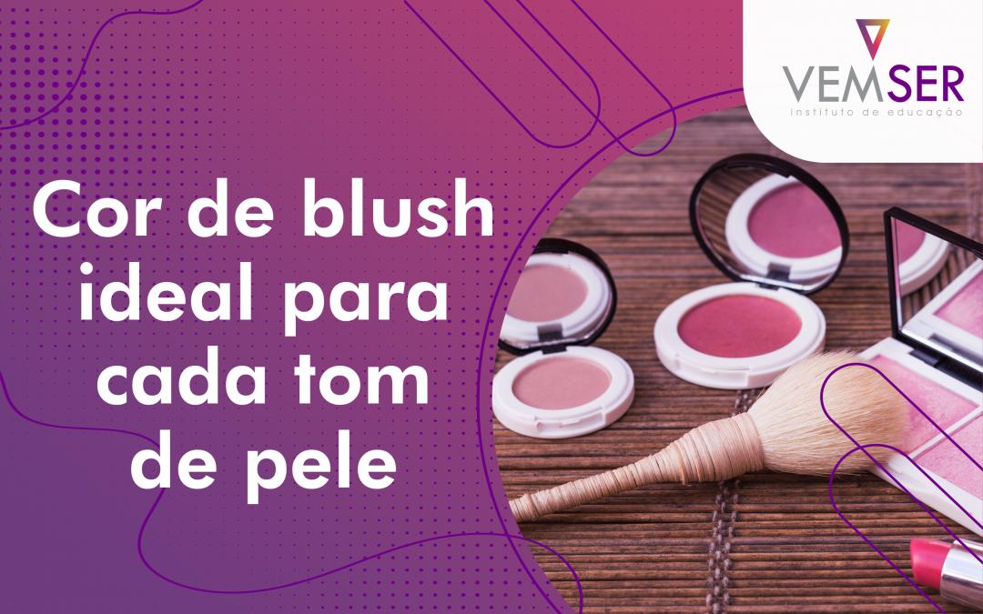 Cor de blush ideal para cada tom de pele